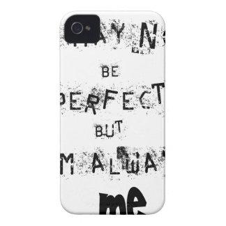 Capa Para iPhone 4 Case-Mate Eu não posso ser perfeito mas sempre mim