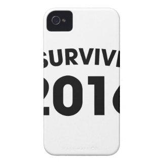 Capa Para iPhone 4 Case-Mate Eu sobrevivi a 2016