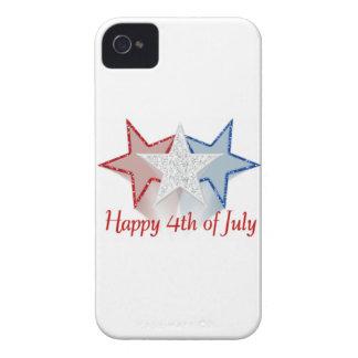 Capa Para iPhone 4 Case-Mate Feliz 4o julho