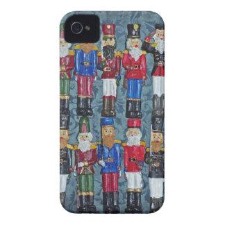 Capa Para iPhone 4 Case-Mate Figuras do natal vintage, soldados idosos