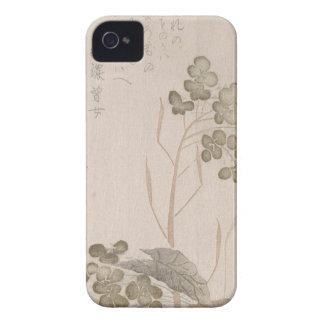 Capa Para iPhone 4 Case-Mate Flor de Natane - origem japonesa - período de Edo
