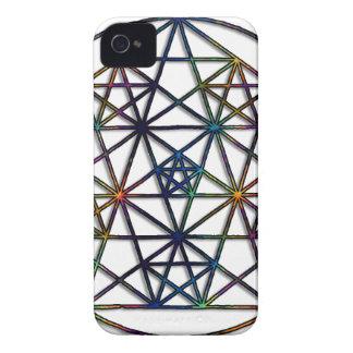 Capa Para iPhone 4 Case-Mate Fractal sagrado da geometria da abundância da vida