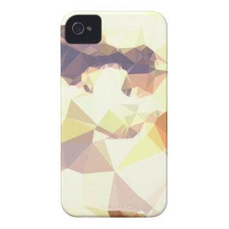 Capa Para iPhone 4 Case-Mate Fundo do polígono do abstrato dourado do trigo