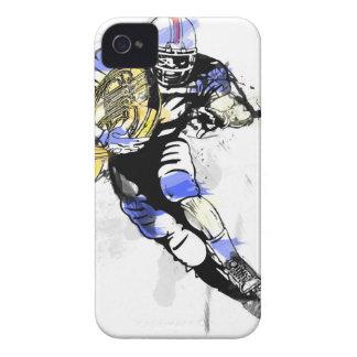 Capa Para iPhone 4 Case-Mate futebol do chifre