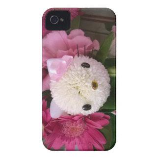 Capa Para iPhone 4 Case-Mate Gatinho da flor