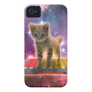 Capa Para iPhone 4 Case-Mate gato do teclado - gato de gato malhado - gatinho