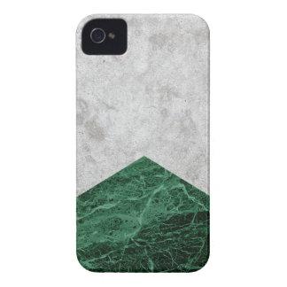 Capa Para iPhone 4 Case-Mate Granito concreto #412 do verde da seta