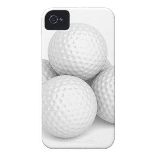 Capa Para iPhone 4 Case-Mate Grupo de bolas de golfe