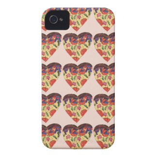 Capa Para iPhone 4 Case-Mate i love pizza
