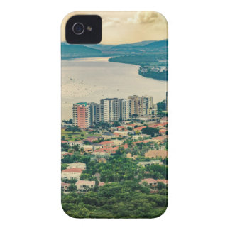 Capa Para iPhone 4 Case-Mate Ideia aérea do subúrbio de Guayaquil do plano