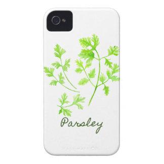 Capa Para iPhone 4 Case-Mate Ilustração da salsa da erva da aguarela