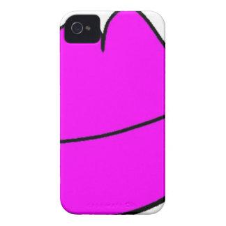 Capa Para iPhone 4 Case-Mate Lábios cor-de-rosa