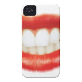Capa Para iPhone 4 Case-Mate Lábios vermelhos