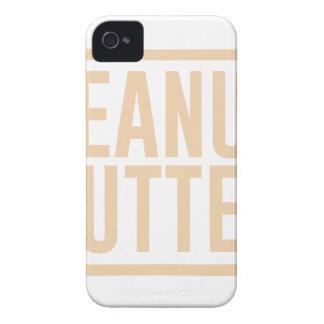 Capa Para iPhone 4 Case-Mate Manteiga de amendoim