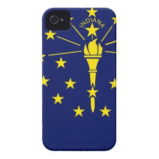 Capa Para iPhone 4 Case-Mate Mapa da bandeira de Indiana