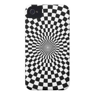 Capa Para iPhone 4 Case-Mate Modelo de tabuleiro de xadrez