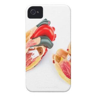 Capa Para iPhone 4 Case-Mate Modelo humano do coração isolado no fundo branco