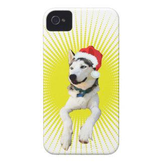 Capa Para iPhone 4 Case-Mate Natal do rouco Siberian