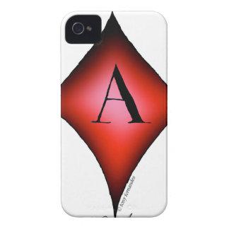Capa Para iPhone 4 Case-Mate O ás de diamantes por Tony Fernandes