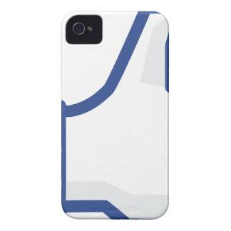Capa Para iPhone 4 Case-Mate o facebook GOSTA de me de manusear acima!
