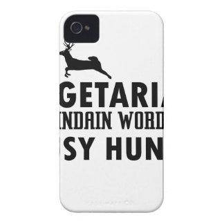 Capa Para iPhone 4 Case-Mate Palavra indiana velha do vegetariano para o