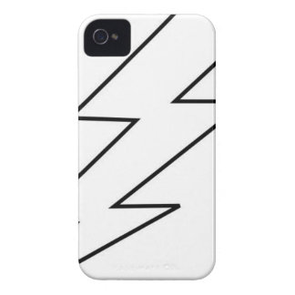 Capa Para iPhone 4 Case-Mate parafuso de relâmpago