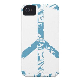 Capa Para iPhone 4 Case-Mate peace23