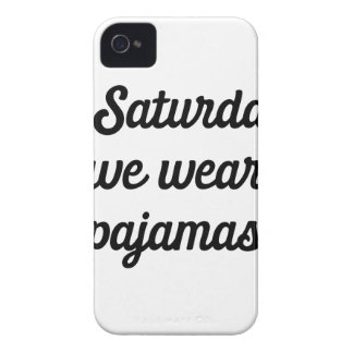 Capa Para iPhone 4 Case-Mate Pijamas de sábado