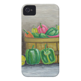 Capa Para iPhone 4 Case-Mate pimentas