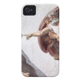 Capa Para iPhone 4 Case-Mate Pintura original de Michelangelo na capela Roma do