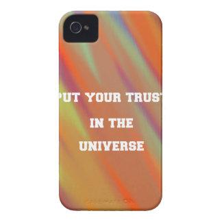 Capa Para iPhone 4 Case-Mate Pnha sua confiança no universo