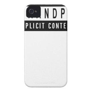 Capa Para iPhone 4 Case-Mate Presente perfeito do melhor t-shirt engraçado do
