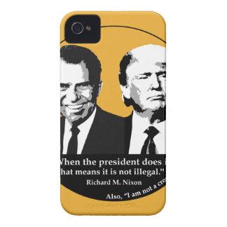 Capa Para iPhone 4 Case-Mate Presidente nao ilegal