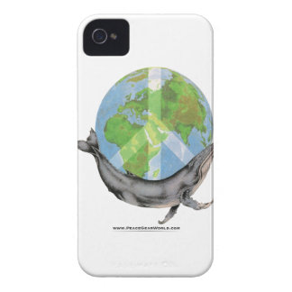 Capa Para iPhone 4 Case-Mate Projeto da paz da baleia de Humpback