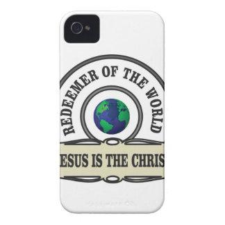 Capa Para iPhone 4 Case-Mate redentor do senhor do mundo