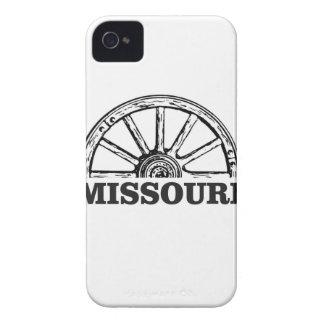 Capa Para iPhone 4 Case-Mate roda de vagão de missouri