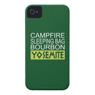 Capa Para iPhone 4 Case-Mate Saco de sono Bourbon da fogueira Yosemite