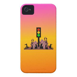 Capa Para iPhone 4 Case-Mate Sinal de trânsito temperamental com coelhos, fundo