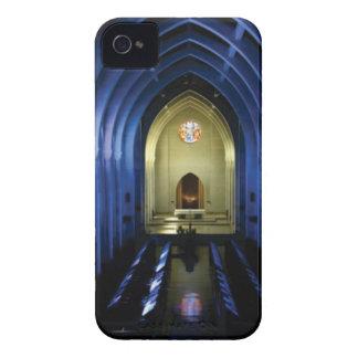 Capa Para iPhone 4 Case-Mate sombras da igreja azul escuro