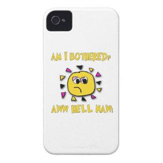 Capa Para iPhone 4 Case-Mate Sou eu incomodei o inferno do aww naw-escuro