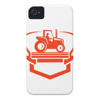 Capa Para iPhone 4 Case-Mate Trator do Antler dos cervos da cauda branca retro