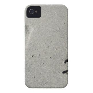 Capa Para iPhone 4 Case-Mate Trilhas de um cão grande na areia