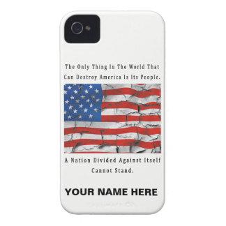 Capa Para iPhone 4 Case-Mate Uma nação dividida