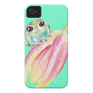 Capa Para iPhone 4 Case-Mate Verde do comedor de rãs