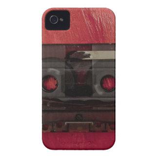 Capa Para iPhone 4 Case-Mate Vermelho do vintage da música da cassete de banda