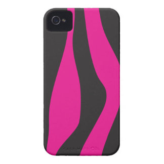Capa Para iPhone 4 Case-Mate Zebra cor-de-rosa