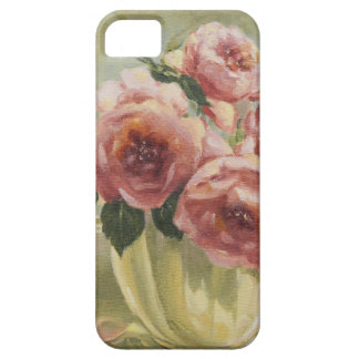 Capa Para iPhone 5 0437 rosas ingleses no jarro