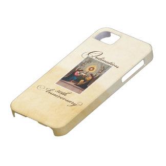 Capa Para iPhone 5 50th Anjos do aniversário da classificação no