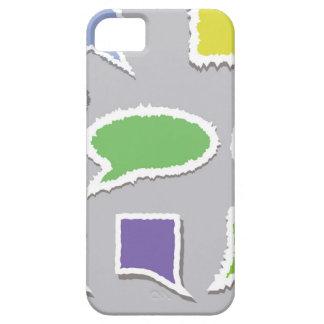 Capa Para iPhone 5 66Speech Bubbles_rasterized