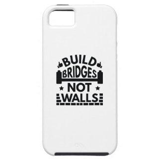 Capa Para iPhone 5 A construção constrói uma ponte sobre não paredes